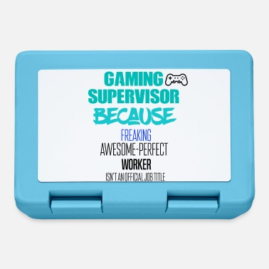 Supervisore supervisor Gaming - Lunch box