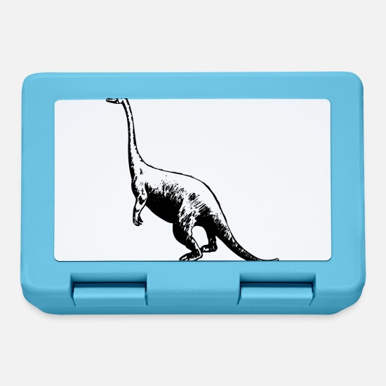 Archeologia Lunch boxes - dino 43 - Lunch box blu zaffiro