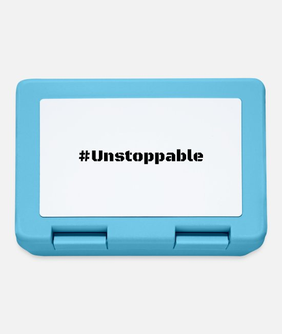 Mma Lunchboxes - Unstoppable - Lunchbox sapphire blue