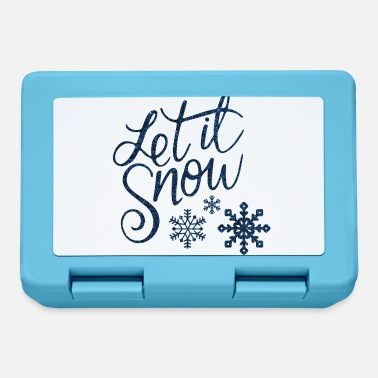 Let it snow - Lunchbox