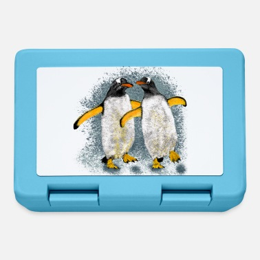 Date-rendez-vous Penguin couple - Lunchbox