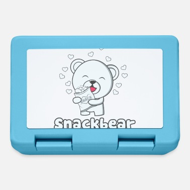 Snack Snack bear / snack bear with heart - Lunchbox