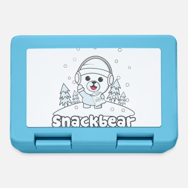 Snack Snack bear / snack bear in the snow - Lunchbox