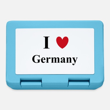 I Love Germany I love Germany - Das Deutschland Shirt! - Fiambrera