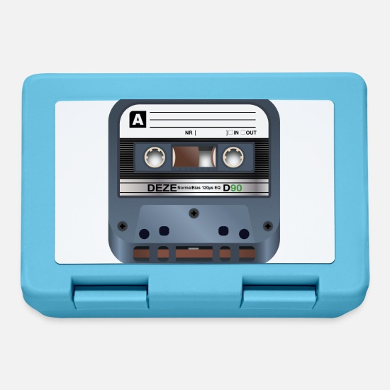 Tape Lunchboxes - Cassette Cool - Lunchbox sapphire blue