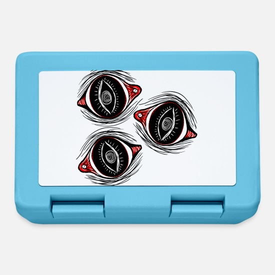 Bad Manners Lunchboxes - Fascinated voyeur - Lunchbox sapphire blue