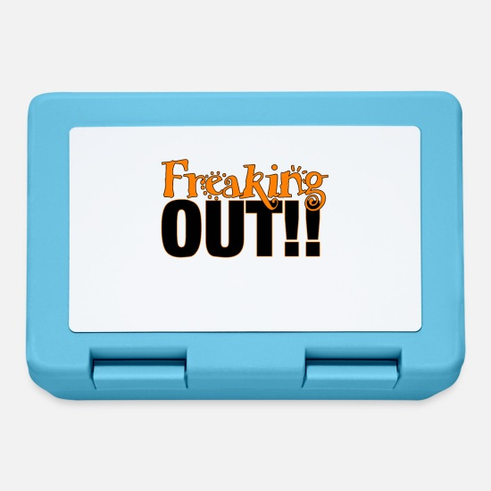 Hazard Lunchboxes - Freaking Out - Lunchbox sapphire blue