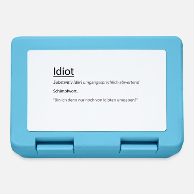 Idiot Idiot - Brotdose
