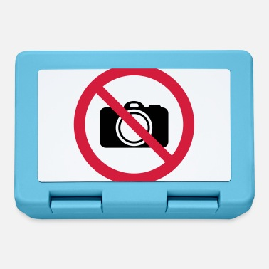 Prohibition Sign Prohibition sign: No photos! - Lunchbox