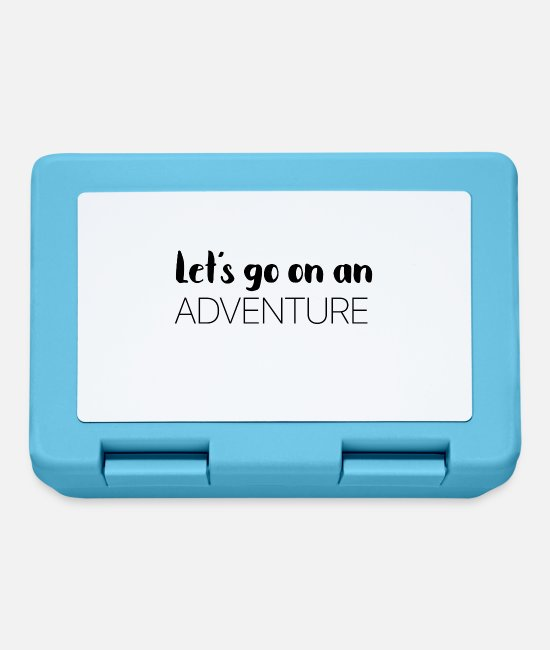 Travel Lunchboxes - Adventure - Lunchbox sapphire blue