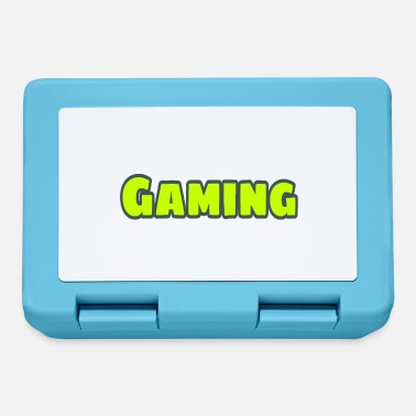 Font Font (gamer) - Lunch box