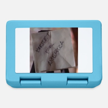 Wing Bartlet For America Napkin on Easel - Lunchbox