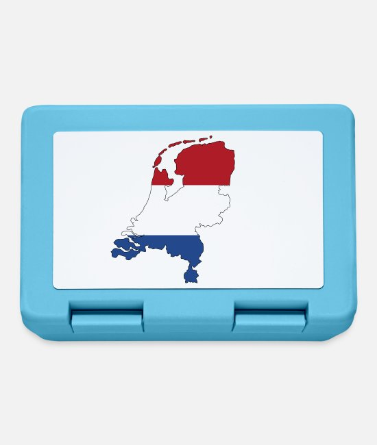 Netherlands Lunchboxes - Netherland - Lunchbox sapphire blue