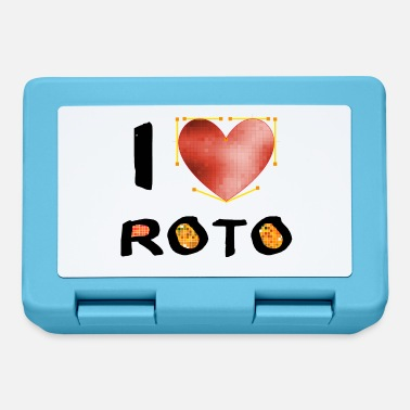 Cgi I love Roto - black - Brotdose