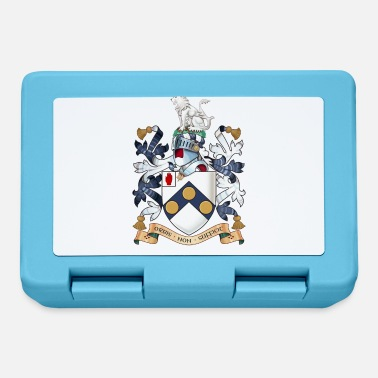 "Bond James Bonds coat-of-arms ""The world is not enough - Lunchbox"