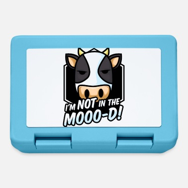 Not In The Mood Not in the MOOD not in the mood funny cow - Lunchbox