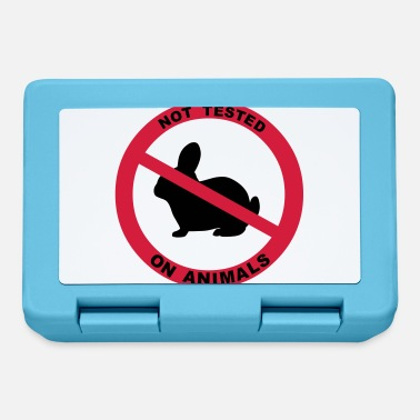Animal Testing Not Tested on Animals Symbol - Lunchbox