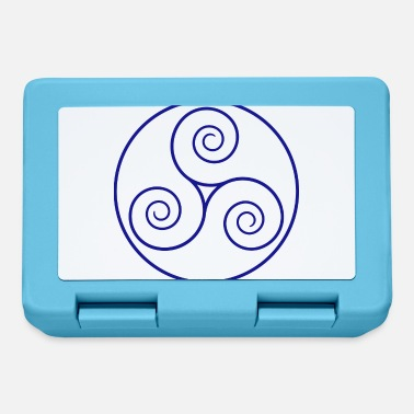 Bavarese triskelion blu 964078 - Lunch box