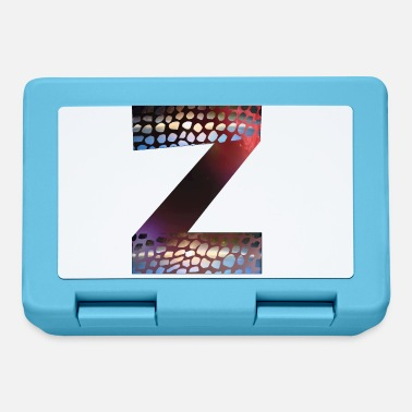 Grade Letters design colorful Z, symbol of diversity - Lunchbox