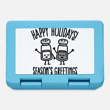 Seasons Greetings Happy holidays! Season's greetings - Lunchbox