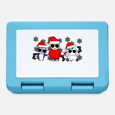 Clan Christmas Gaming - Gaming Crew Gaming Squad - Lunch box