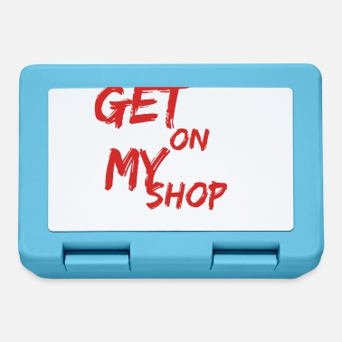 Luxury getonmyshop come in my shop - Lunchbox