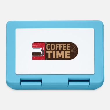 Morning Coffee Time Coffee Lover Gift Idea - Lunchbox