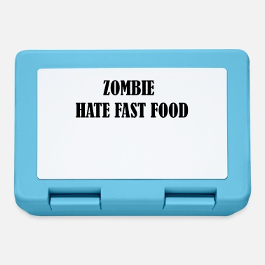 Summer Zombie hate fast food - Lunchbox
