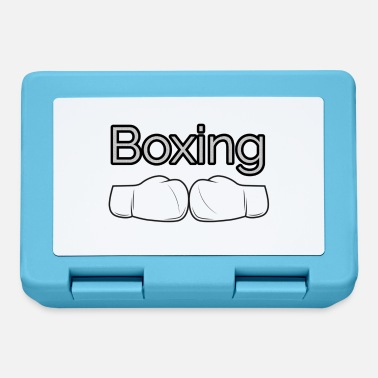 Box Boxing Boxing Boxing Gloves - Lunchbox