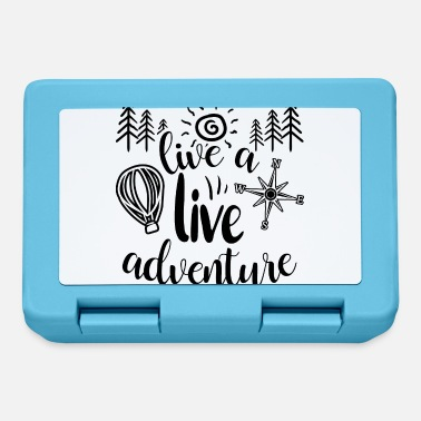 Live Aid Live a live adventure - Lunchbox