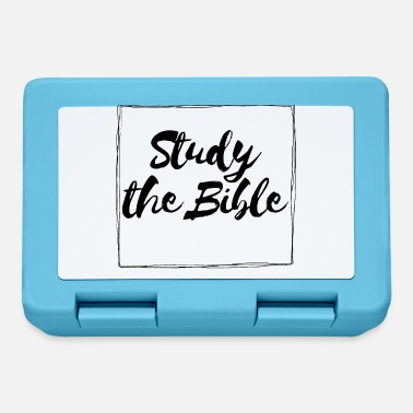 Jesus Study The Bible - Lunchbox