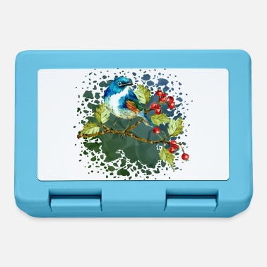 Symbol Colorful bird - Lunchbox