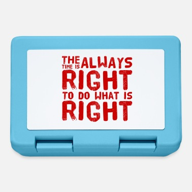 Communist The time is always right to do what's right - Lunchbox