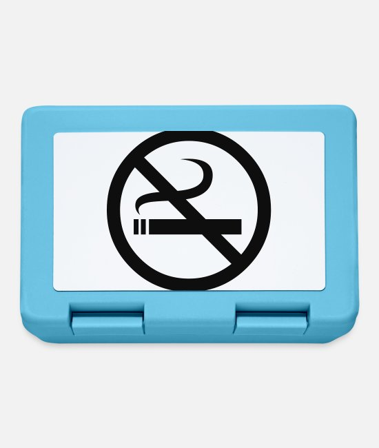 Symbol  Lunchboxes - No Smoking - Lunchbox sapphire blue