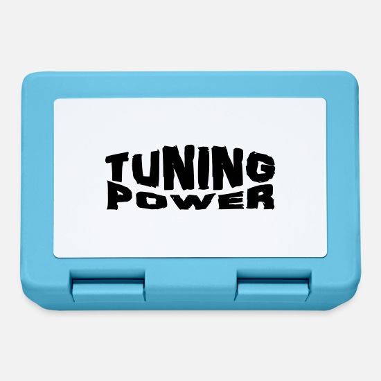 Power Metal Lunchboxes - tuning power - Lunchbox sapphire blue