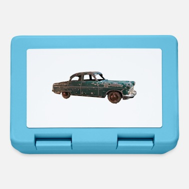 Vintage classic green car - Lunchbox