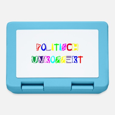 Ribellione politicamente scorretto - Lunch box