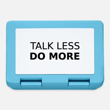 Less TALK LESS - Brotdose