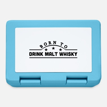 Malt Drink born to drink malt whisky banner - Lunchbox