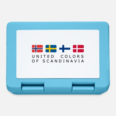 Scandinavia United Colors of SCANDINAVIA black-Lettered - Madkasse