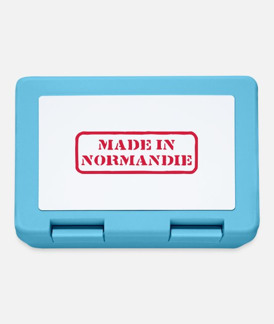 Factory Lunchboxes - Made in Normandy - Lunchbox sapphire blue