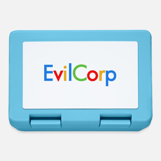 Tech Lunchboxes - evilcorp - Lunchbox sapphire blue