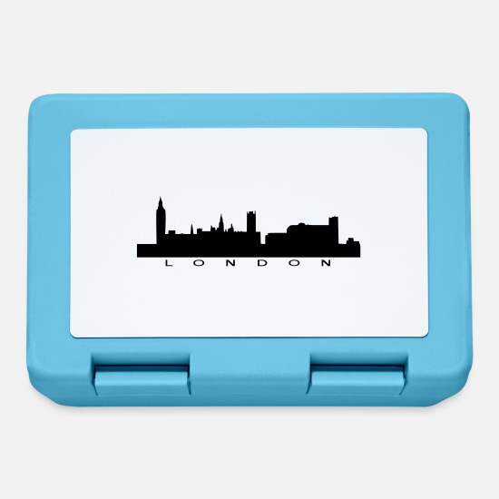 Inghilterra Lunch boxes - Skyline di Londra - Lunch box blu zaffiro