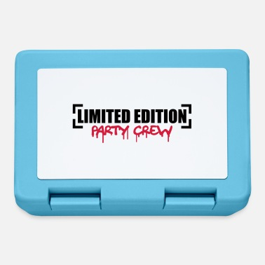 Party Limited Edition Party Crew Design - Lunchbox
