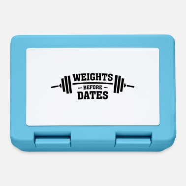 Date Weights Before Dates - Boîte à goûter.