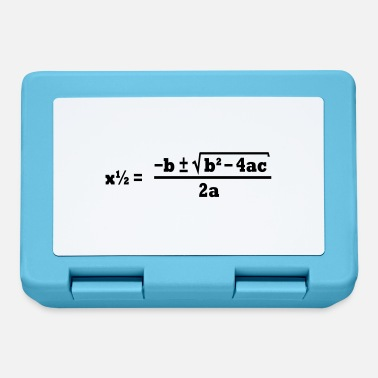 Quadrat quadratic formula - Lunchbox