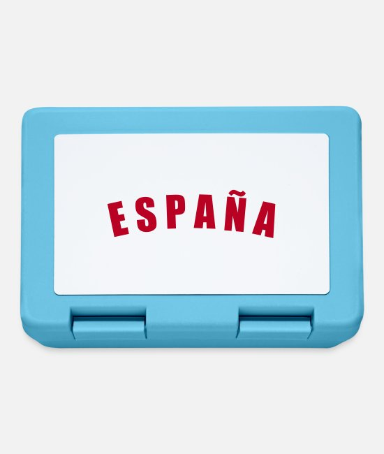 Fußball Lunchboxes - ESPAÑA Spain Spanien fútbol calcio football - Lunchbox sapphire blue