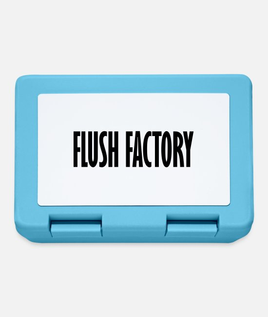 Game Lunchboxes - flush factorys - Lunchbox sapphire blue