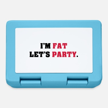 Lets Have A Party in the fat let's party - Lunchbox