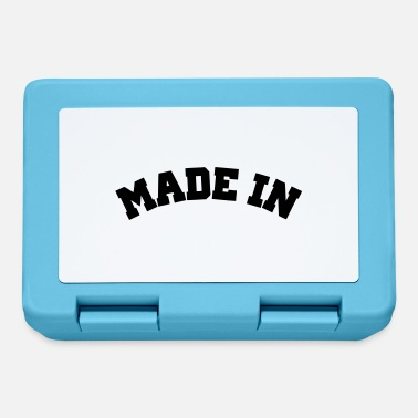 Made Made in - Lunchbox